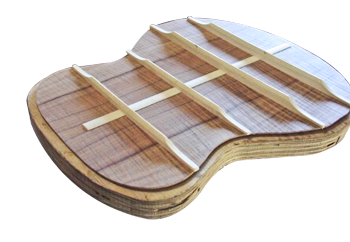 Acoustic Guitar Bracing Patterns