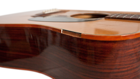 How To Repair Binding Around The Body Of An Acoustic Guitar Guitar