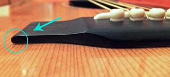Acoustic Guitar Bridge Peeling Away From Body