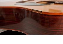 Acoustic Guitar Body Binding Repair