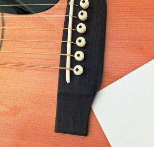 Music Instrument Acoustic Guitar Bridge Placement