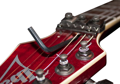 how to setup an electric guitar for drop c tunings and low heavy metal tunings guitar repair bench. Black Bedroom Furniture Sets. Home Design Ideas