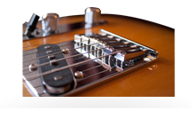 Electric Guitar Intonation Adjustment