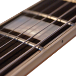 how to fret an electric guitar with a bound fretboard
