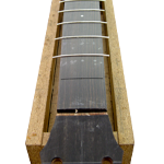 how to intsall electric guitar frets