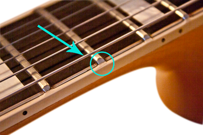 how to repair electric guitar fretboard binding with nibs or nubs guitar repair bench. Black Bedroom Furniture Sets. Home Design Ideas