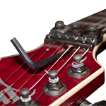 Electric Guitar Truss Rod Adjustment