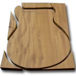 PRS Guitar Building - Cutting the Body