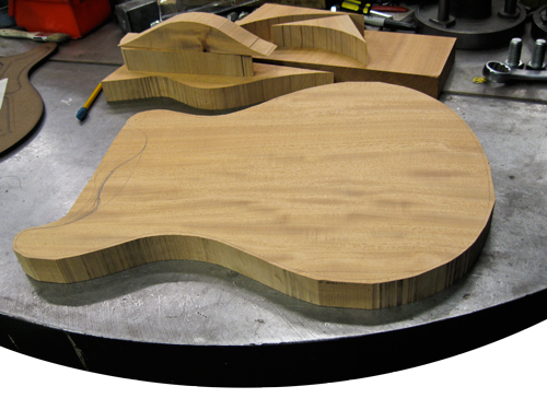 Routing PRS Semi-Hollow Body