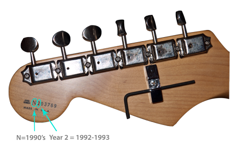 Dating a stratocaster by serial number