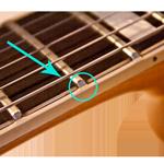 Guitar Fretboard Binding Nibs