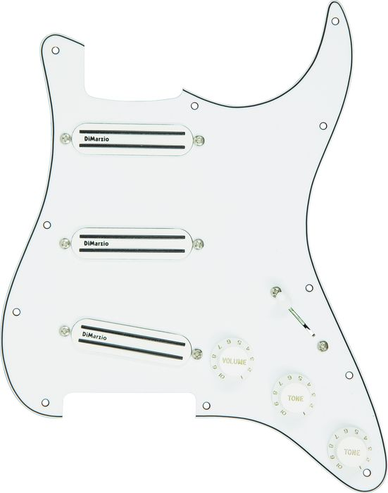 Dimarzio Split P Bass Prewired Pickguard Black By Dimarzio