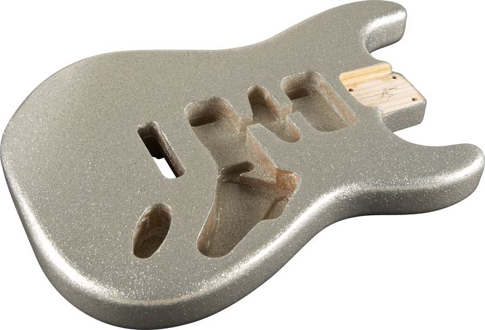 Mighty Mite MM2700SPRKL Stratocaster Replacement Body - Sparkle Finish Gold