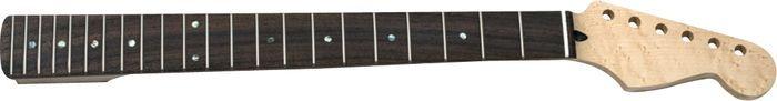 Mighty Mite MM2926 Bird's Eye Stratocaster Replacement Neck with Rosewood Fingerboard and Jumbo Frets