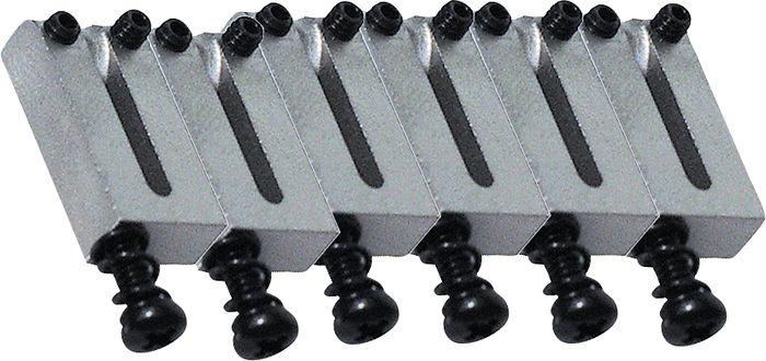 Fender Set of 6 American Series Bridge Sections