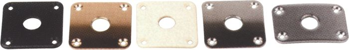 Gibson Jack Plate with Screws Nickel