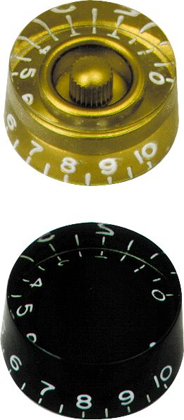 Gibson Speed Knobs Black 4-Pack