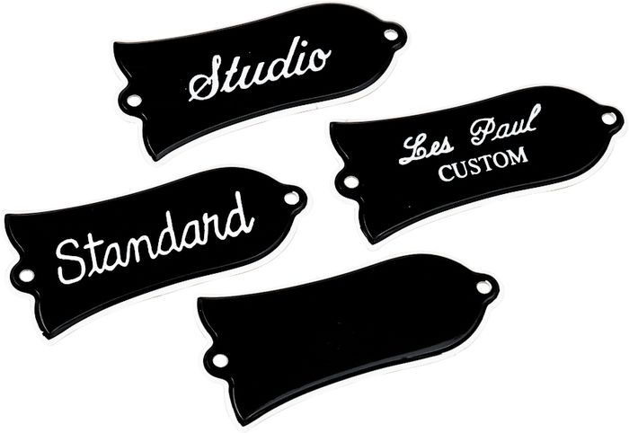 Gibson Truss Rod Cover with Screws - Blank