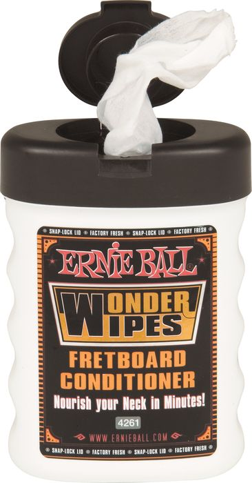 Ernie Ball Wonder Wipes Fretboard Conditioner Small