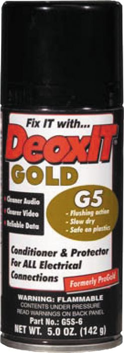 CAIG DeoxIT Gold G5 Spray Contact Conditioner 5 oz.