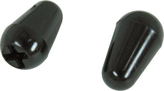 Fender Original Stratocaster Black Switch Tips (2)