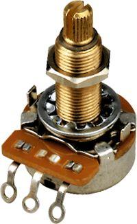 Gibson 300kOhm Potentiometer Linear Taper/Long Shaft