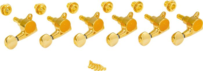 Gotoh Locking Tuners Right Hand - 6 Pack Chrome