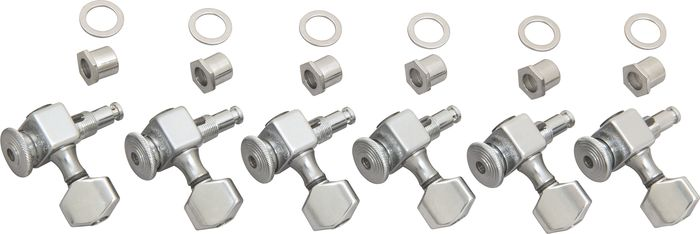 Sperzel 6-In-Line Non-Graduated Tuners Chrome