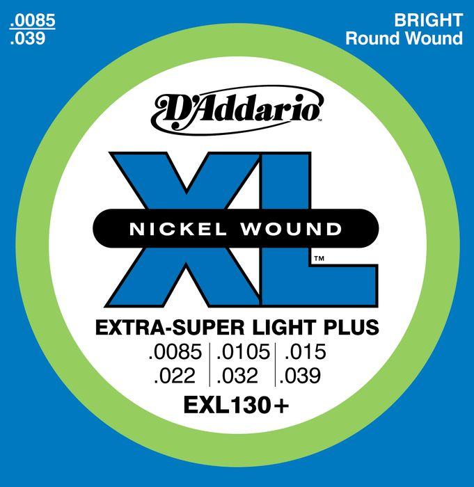 D'Addario EXL130+ Nickel XL Electric Guitar Strings