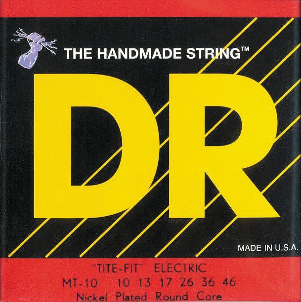 DR Strings MT-10 Tite-Fit Nickel Plated Electric Guitar Strings