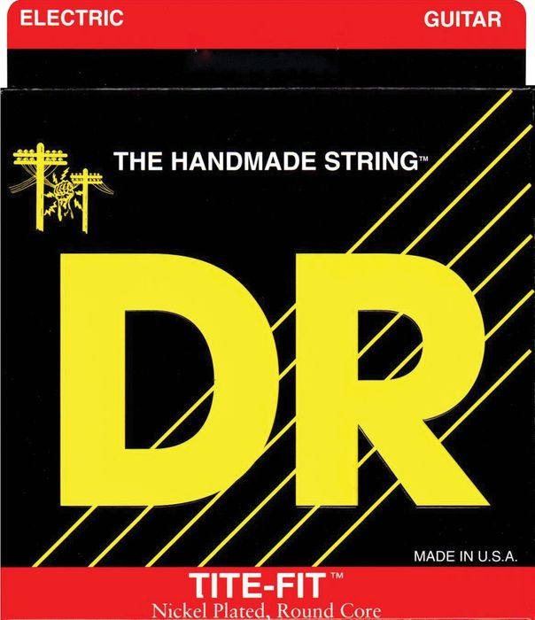 DR Strings Tite-Fit Electric Guitar Strings Half-Tite