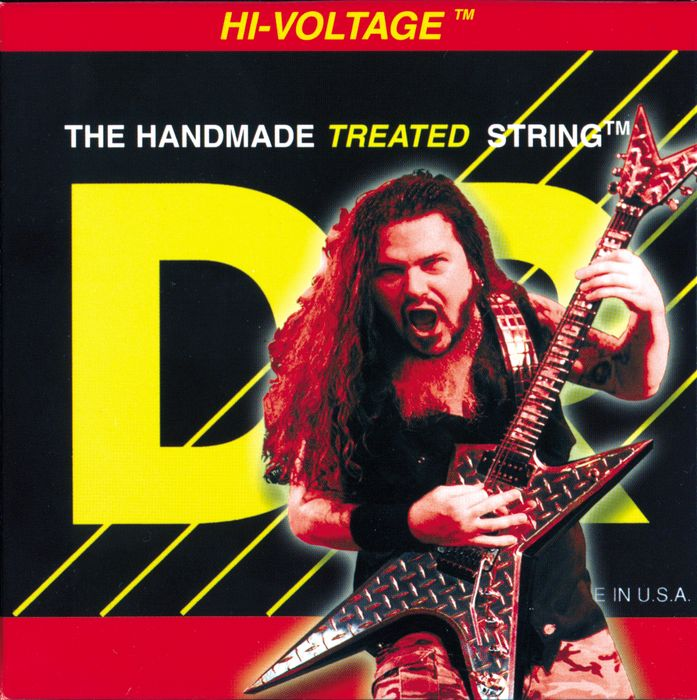 DR Strings Dimebag Darrell Hi-Voltage Heavy Electric Guitar Strings