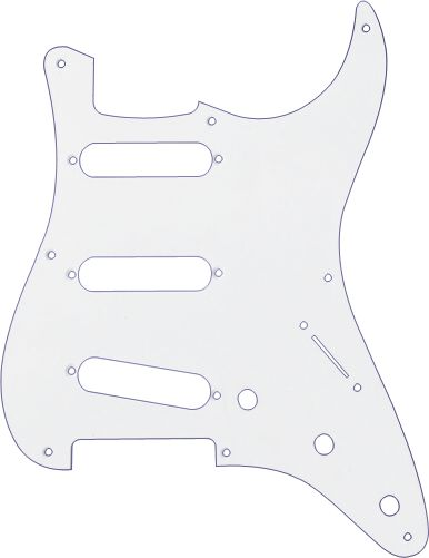 Fender 4-Ply White Pearl 11-Hole Mount 1 HB Stratocaster® Pickguard