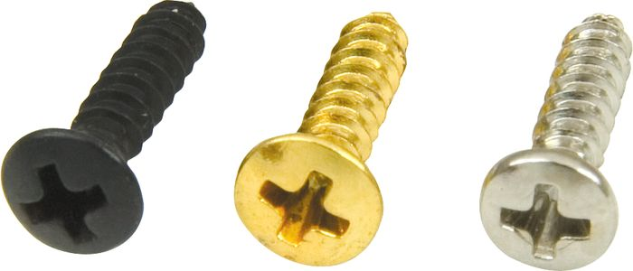 DiMarzio Fender Pickguard Screws Black Set of 24
