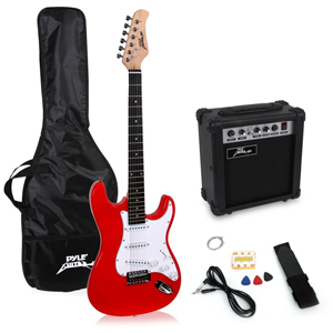 best electric guitar starter kits for beginners 2019 pack comparison. Black Bedroom Furniture Sets. Home Design Ideas