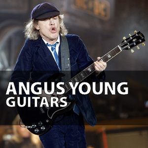 angus young guitar full list of ac dc guitars amps pedals gear. Black Bedroom Furniture Sets. Home Design Ideas